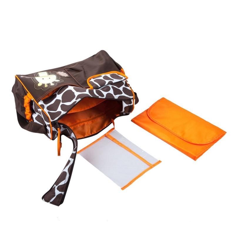 Táska anyukáknak narancssárga zsiráf | xajandek.hu